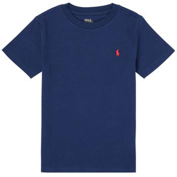 Odjeća Dječak  Majice kratkih rukava Polo Ralph Lauren TINNA Blue