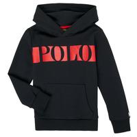 Odjeća Dječak  Sportske majice Polo Ralph Lauren VOULLI Crna
