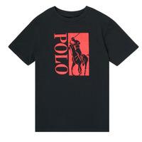 Odjeća Dječak  Majice kratkih rukava Polo Ralph Lauren CROPI Crna