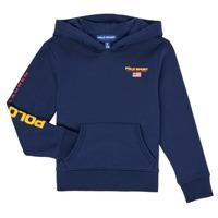 Odjeća Dječak  Sportske majice Polo Ralph Lauren AMELIA Blue