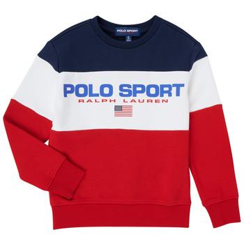 Odjeća Dječak  Sportske majice Polo Ralph Lauren TRINITA Multicolour