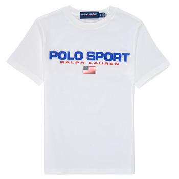Odjeća Dječak  Majice kratkih rukava Polo Ralph Lauren DRONI Bijela