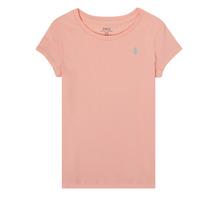 Odjeća Djevojčica Majice kratkih rukava Polo Ralph Lauren SIDONIE Ružičasta