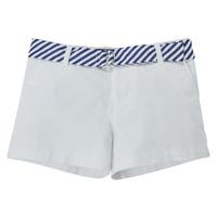 Odjeća Djevojčica Bermude i kratke hlače Polo Ralph Lauren FILLI Bijela