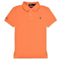 Odjeća Dječak  Polo majice kratkih rukava Polo Ralph Lauren POLLIE Narančasta