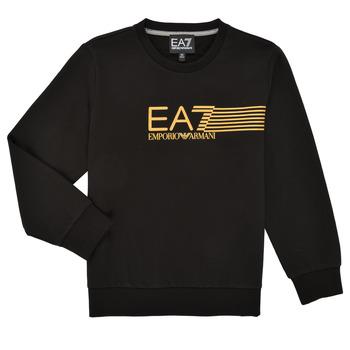 Odjeća Dječak  Sportske majice Emporio Armani EA7 3KBM55-BJ05Z-1200 Crna