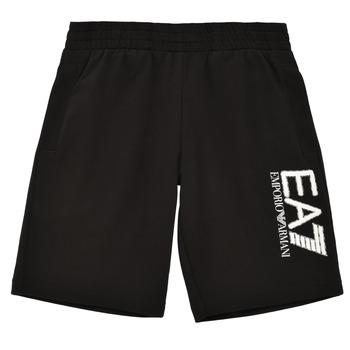 Odjeća Dječak  Bermude i kratke hlače Emporio Armani EA7 3KBS52-BJ05Z-1200 Crna