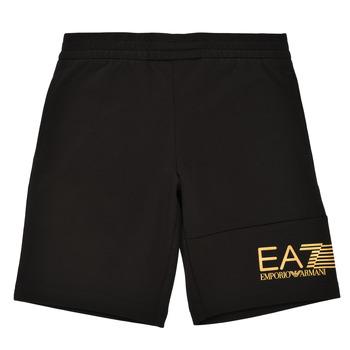Odjeća Dječak  Bermude i kratke hlače Emporio Armani EA7 3KBS53-BJ05Z-1200 Crna / Gold