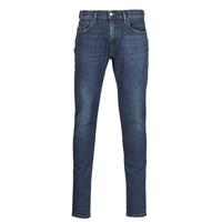 Odjeća Muškarci  Slim traperice Diesel D-STRUKT Blue / Zagasita