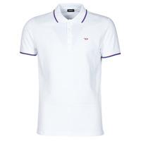 Odjeća Muškarci  Polo majice kratkih rukava Diesel 00SW7C-0MXZA-100 Bijela