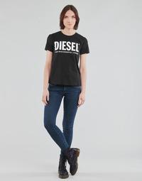 Odjeća Žene  Skinny traperice Diesel SLANDY-LOW Blue