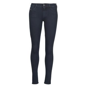 Odjeća Žene  Skinny traperice Diesel SLANDY Blue / Zagasita