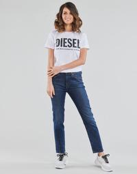 Odjeća Žene  Traperice ravnog kroja Diesel D-JOY Blue