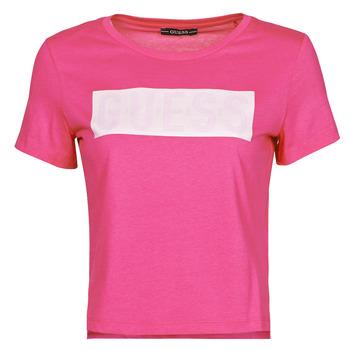 Odjeća Žene  Majice kratkih rukava Guess SS CN ADRIA TEE Fuchsiová