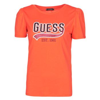 Odjeća Žene  Majice kratkih rukava Guess SS CN MARISOL TEE Red