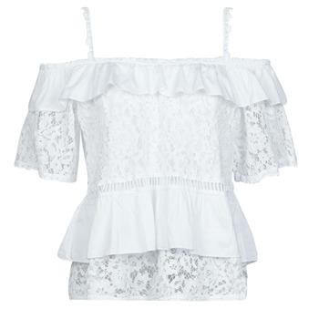Odjeća Žene  Topovi i bluze Guess SS NEW OLIMPIA TOP Bijela