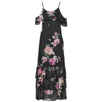 Odjeća Žene  Duge haljine Guess AGATHE DRESS Crna / Multicolour