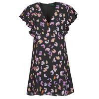 Odjeća Žene  Kratke haljine Guess AYAR DRESS Crna / Multicolour