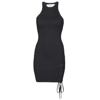Odjeća Žene  Kratke haljine Guess ALEXA TIE DRESS Crna