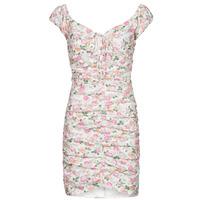 Odjeća Žene  Kratke haljine Guess INGRID DRESS Ružičasta / Svijetla