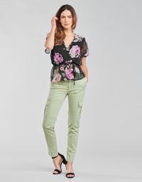 Odjeća Žene  Cargo hlače Guess SEXY CARGO PANT Zelena