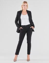 Odjeća Žene  Hlače s pet džepova Guess ZOE PANTS Crna