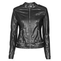 Odjeća Žene  Kožne i sintetičke jakne Guess NEW TAMMY JACKET Crna