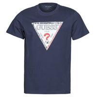 Odjeća Muškarci  Majice kratkih rukava Guess TRIESLEY CN SS TEE Blue