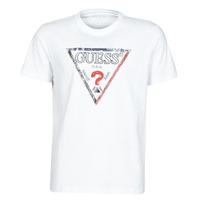 Odjeća Muškarci  Majice kratkih rukava Guess TRIESLEY CN SS TEE Bijela