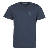 Odjeća Muškarci  Majice kratkih rukava Guess LOGO ORGANIC BASIC CN SS TEE Blue