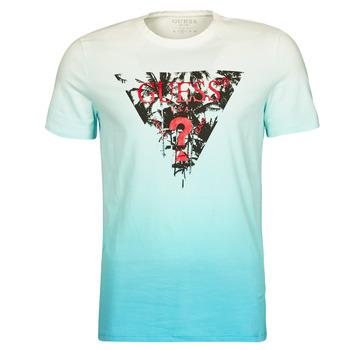 Odjeća Muškarci  Majice kratkih rukava Guess PALM BEACH CN SS TEE Blue