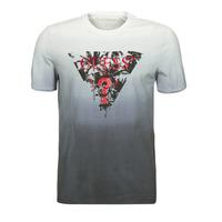 Odjeća Muškarci  Majice kratkih rukava Guess PALM BEACH CN SS TEE Crna