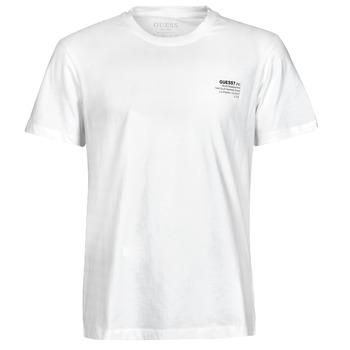 Odjeća Muškarci  Majice kratkih rukava Guess ORGANIC BASIC CN SS TEE Bijela