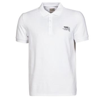 Odjeća Muškarci  Polo majice kratkih rukava Guess OZ SS POLO Bijela