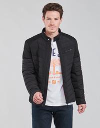 Odjeća Muškarci  Pernate jakne Guess STRETCH MIXED BIKER Crna