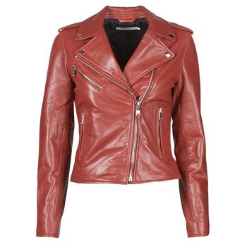 Odjeća Žene  Kožne i sintetičke jakne Naf Naf CHACHA P Red