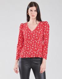 Odjeća Žene  Topovi i bluze Naf Naf COLINE C1 Red