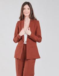 Odjeća Žene  Jakne i sakoi Naf Naf LINONOU V2 Terracotta