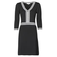 Odjeća Žene  Kratke haljine Morgan RMFATA Crna / Bijela