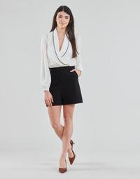 Odjeća Žene  Kombinezoni i tregerice Morgan SHAMIE Crna / Bijela