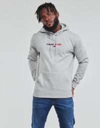 Odjeća Muškarci  Sportske majice Tommy Jeans TJM LINEAR LOGO HOODIE Siva