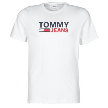 Odjeća Muškarci  Majice kratkih rukava Tommy Jeans TJM CORP LOGO TEE Bijela