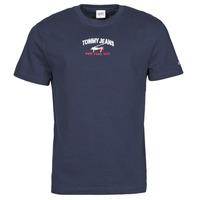 Odjeća Muškarci  Majice kratkih rukava Tommy Jeans TJM TIMELESS TOMMY SCRIPT TEE Blue