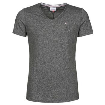 Odjeća Muškarci  Majice kratkih rukava Tommy Jeans TJM SLIM JASPE V NECK Crna