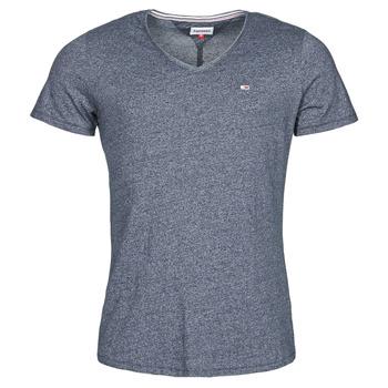 Odjeća Muškarci  Majice kratkih rukava Tommy Jeans TJM SLIM JASPE V NECK Blue