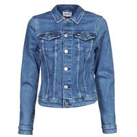 Odjeća Žene  Traper jakne Tommy Jeans VIVIANNE SLIM DENIM TRUCKER NMBS Blue