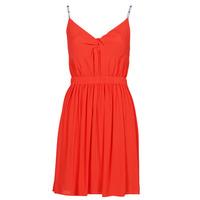 Odjeća Žene  Kratke haljine Tommy Jeans TJW ESSENTIAL STRAP DRESS Red