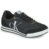 Obuća Muškarci  Niske tenisice Calvin Klein Jeans LOW PROFILE SNEAKER LACEUP PES Crna