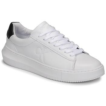 Obuća Žene  Niske tenisice Calvin Klein Jeans CHUNKY SOLE SNEAKER LACEUP LTH Bijela