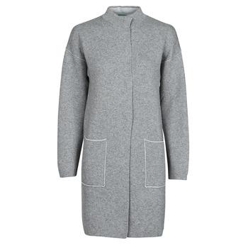Odjeća Žene  Kaputi Benetton 1132E9071-507 Siva